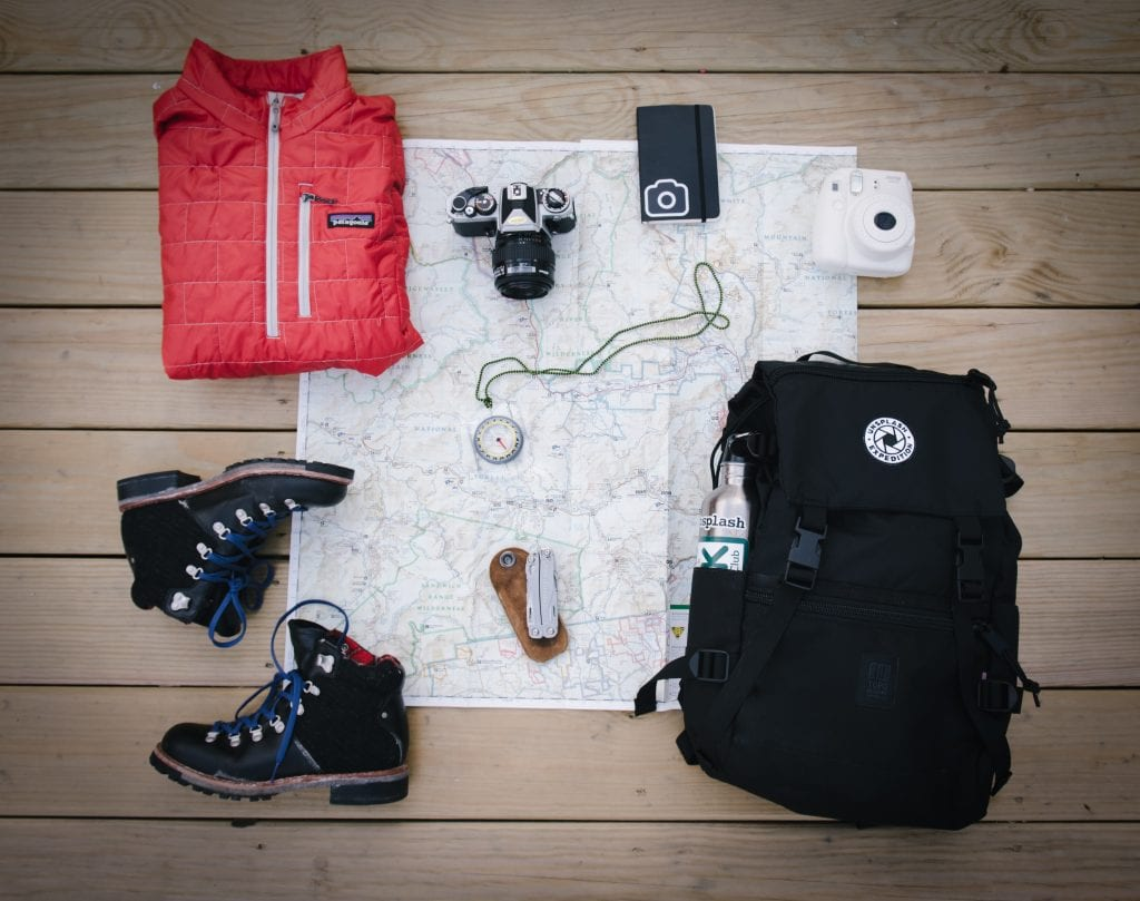 must pack list for hiking